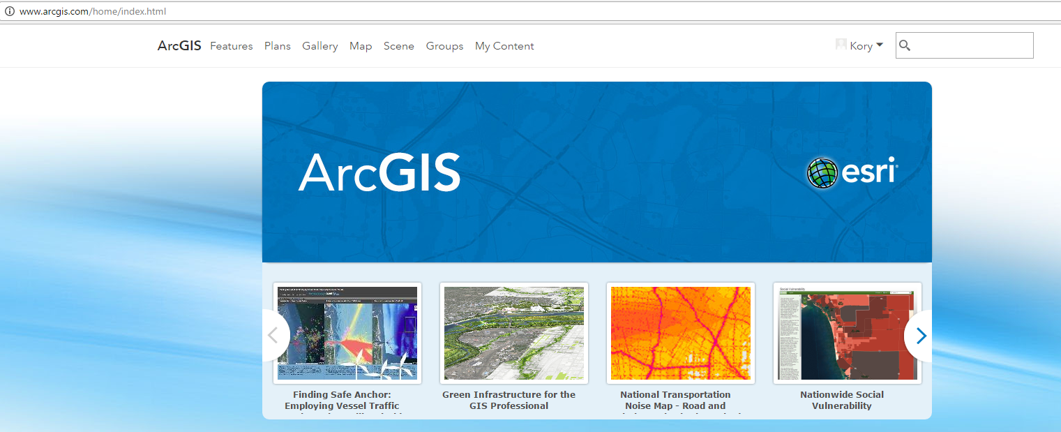 ArcGIS Public Account
