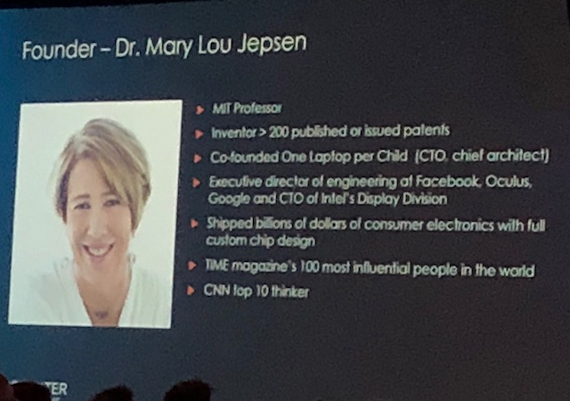 Dr. Mary Lou Jepson - Brain Mapping