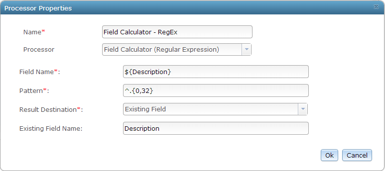 Field Calculator (Regular Expression)