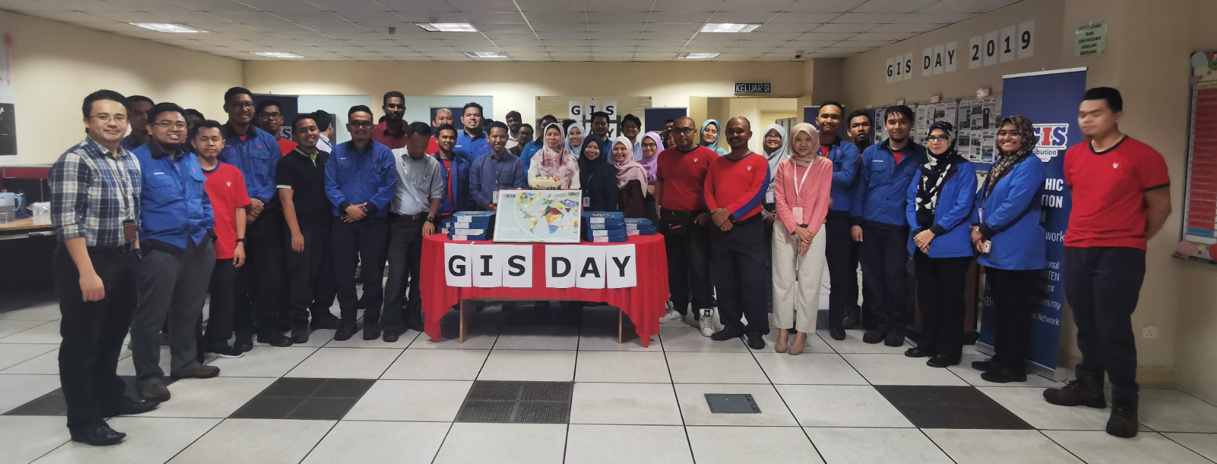GIS Day celebration in Malaysia.
