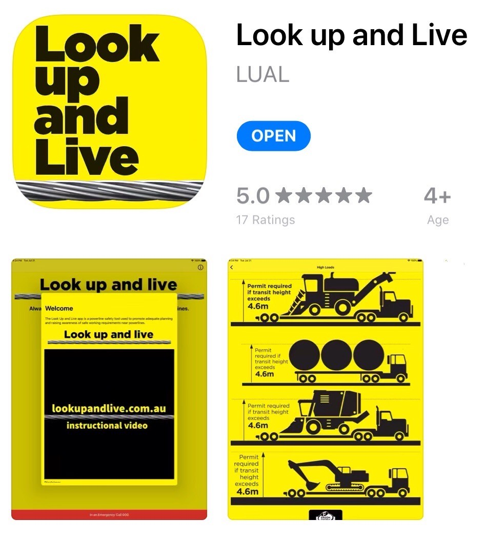 Look up and Live app