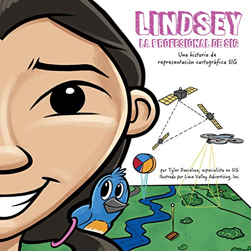 Lindsey the GIS Professional in Spanish book cover