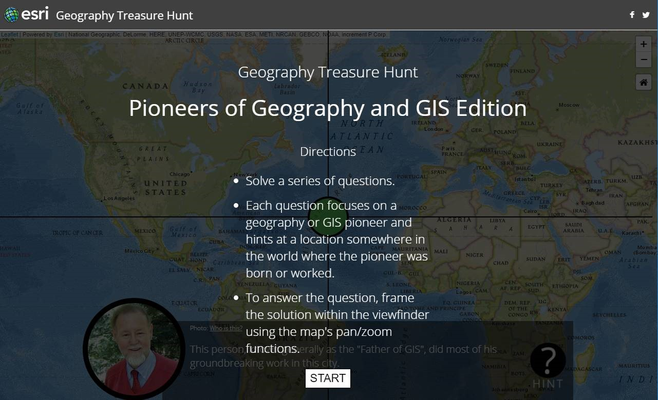 GIS Day pioneers quiz.
