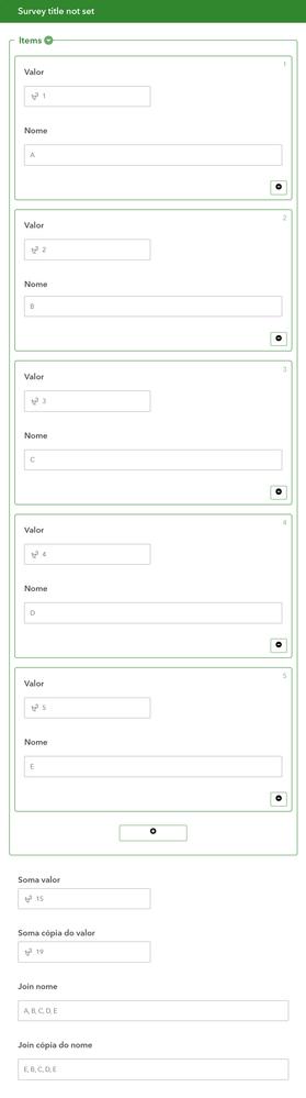 Error web form