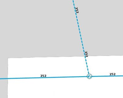 GIS with Overhead Switch at pole and UG and OH lines meeting it