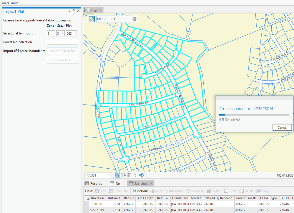 ArcGIS Pro SDK - Parcel Fabric API Sample.png